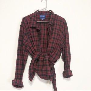 Apt 9 SlimFit Soft Touch Flannel Shirt